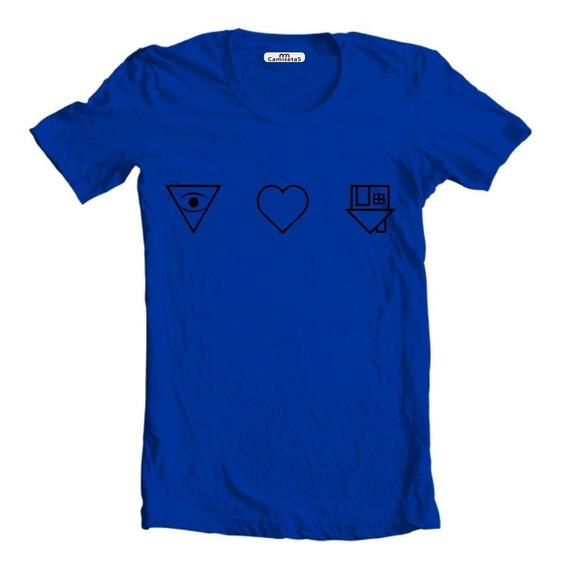 Camiseta Camisa Baby Look The Nbhd Neighbourhood I Love You