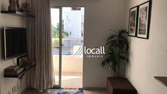 Apartamento Com 2 Dormitórios À Venda, 80 M² Por R$ 210.000 - Jardim Bosque Das Vivendas - São José Do Rio Preto/sp - Ap1956