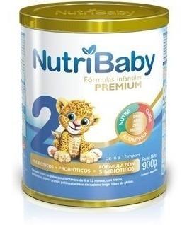 Leche Nutribaby 2 Premium 6 A 12 Meses X 900g X 2 Latas
