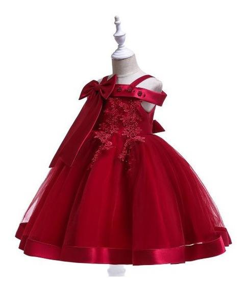 Vestido Infantil Bordado Formatura Festa Casamento Daminha