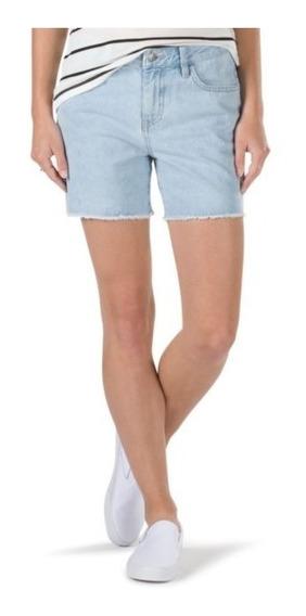 Shorts Vans Boyfriend Doblado Mezclilla Mujer Urban Beach
