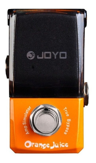 Pedal Simulador De Amp Joyo Jf-310 Orange Juice - Nf E Gtia
