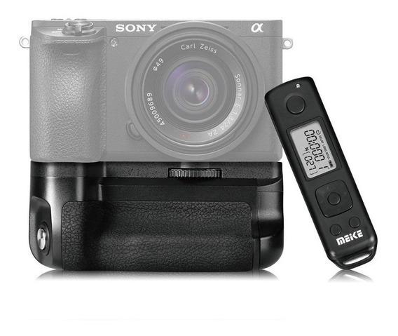 Grip Meike Para Sony A6500 + Controle Remoto
