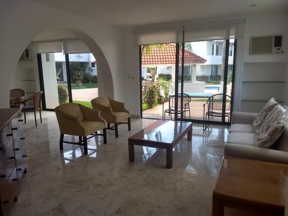 Rento Preciosa Villa Amueblada En Zona Hotelera