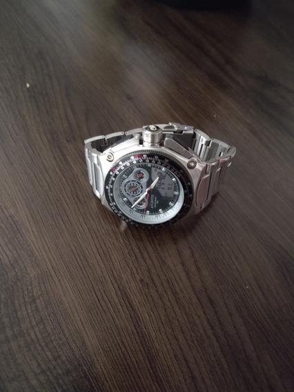 2 Relógio Original Masculino Top Atlantis / Analog E Dig