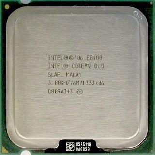 Intel® Core2 Duo Processor E8400 (6m Cache, 3.00 Ghz, 1333