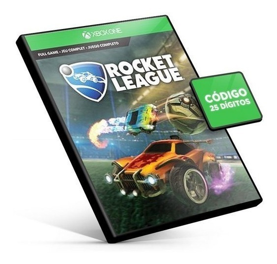Rocket League Xbox One - Código 25 Dígitos