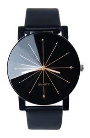 Relógio Masculino Feminino Original Bgg Quartz Branco