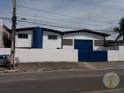 Galpão Comercial Para Locação, Intermares, Cabedelo. - Ga0019