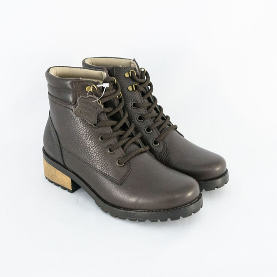 Bota Pegada 281401-03 Burnished Couro Legítimo Original
