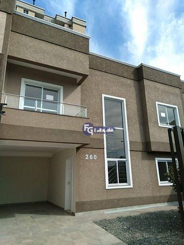 Imagem 1 de 30 de Sobrado Com 4 Dormitórios E 1 Suíte À Venda, 132 M² Por R$ 599.000 - Centro - São José Dos Pinhais/pr - So0173