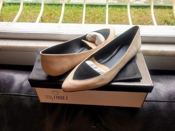 Sapatilha My Shoes Machiatto Tam 35 Nova