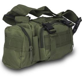 Mochila Cangurera Tactica Militar Verde D3024