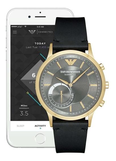 Reloj Smartwatch Emporio Armani Connected Renato Art3006
