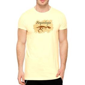 5 Camisetas Faculdade Arqueologia Camisa Estilo E Beleza !!!
