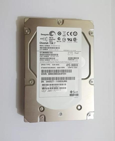 Hd Seagate Sas 600gb 15k Sas 3.5 St3600057ss - Usado Func.