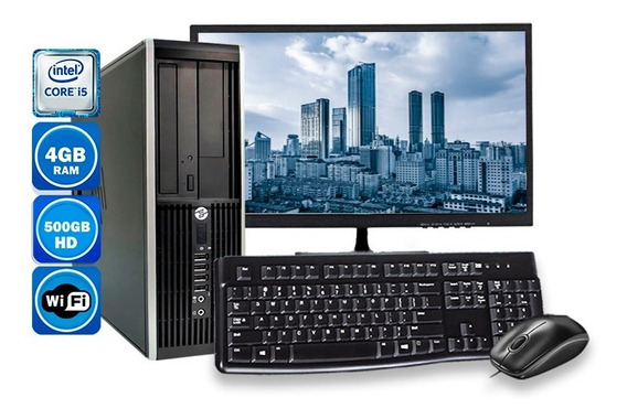 Computador Pc Hp 8300 Intel Core I5 4gb Hd 500gb Wi-fi