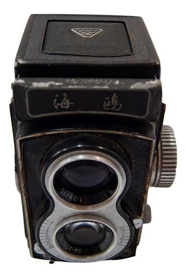 Antiga Máquina Fotográfica Analógica Seagull 4b