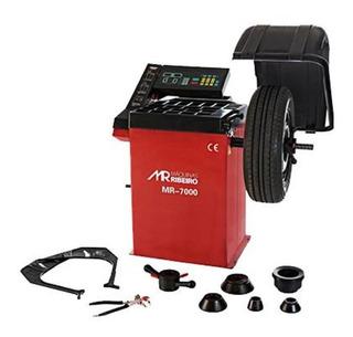 Balanceadora De Rodas Motorizada Mono Verm Mr7000 Maq Ribeir
