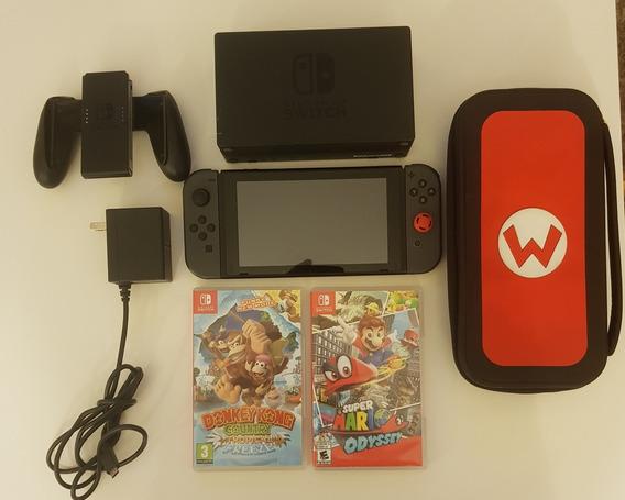 Nintendo Switch + 2 Jogos