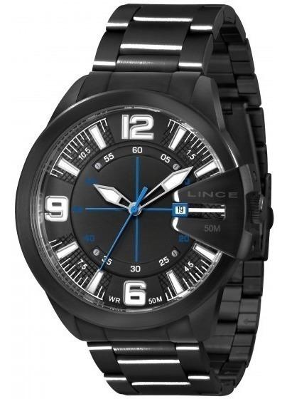 Relógio Lince Masculino Black - By Orient (estilo Diesel)
