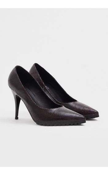 Zapatos Stylletos Lázaro Dallas Malbec N38