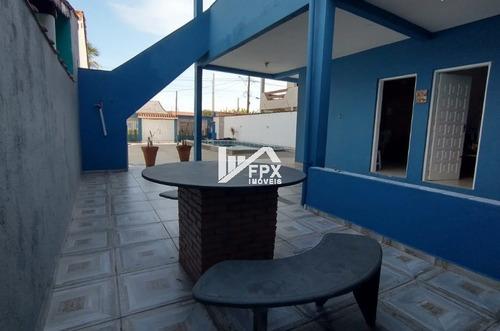Imagem 1 de 14 de Casa Com Piscina Com 04 Suítes! No Loty Em Itanhaém -ca387-f
