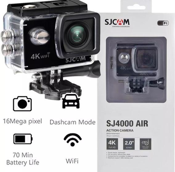Camera Sjcam Sj4000 Air 4k Wifi Prova D