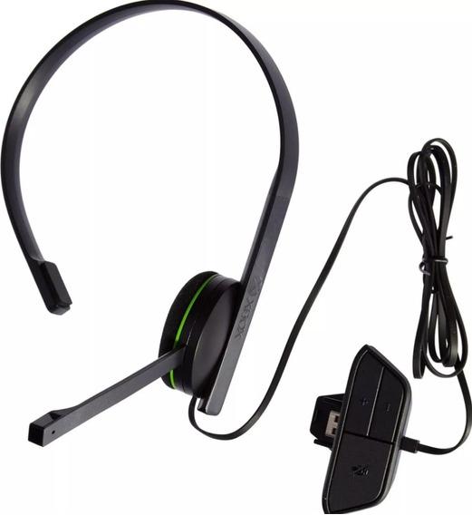 Headset Xbox One Original + 14 Dias De Live Gold
