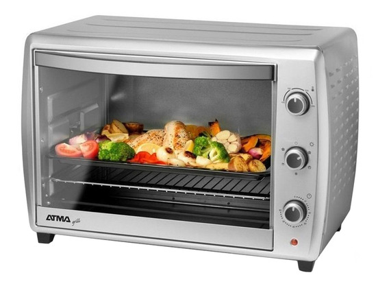 Horno Electrico Grill Atma Hg7010n Convector 70lts 2200w