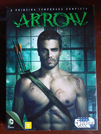 Dvd Arrow - Primeira Temporada Completa
