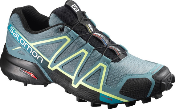 Zapatilla Femenina Salomon - Speedcross 4 W Celeste - Trail