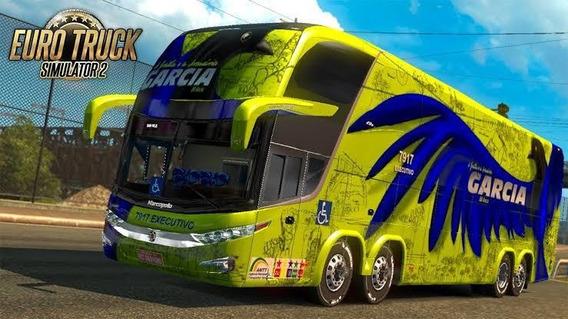 Euro Truck Simulator2 Mod Bus+mapa Brasil + Leve + Realista