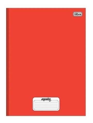 Caderno Vermelho Tilibra Mais 96 Folhas, Com Brinde!!!!!