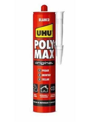 Uhu Poly Max Original 465g - Blanco - Montaje Y Sellador