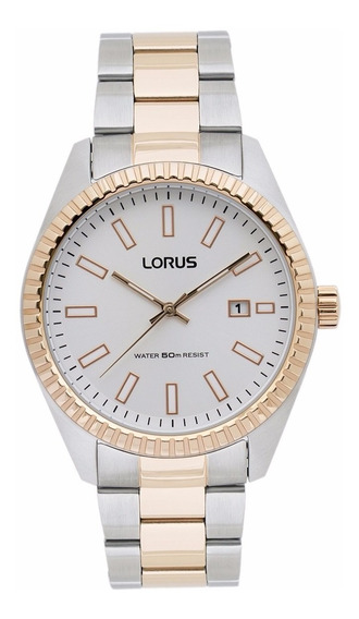 Reloj Lorus By Seiko Rh992dx9 Hombre Analogico Plateado