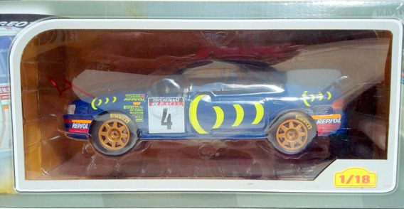 Miniatura Subaru Impreza 555 1995 Rally Ixo 1/18