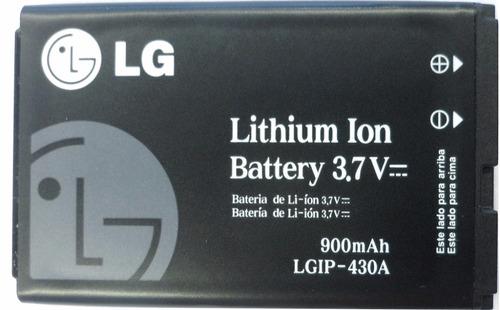 Imagen 1 de 3 de Bateria Original LG Lgip-430a 3.7v 900mah (2009) Pz#1564+