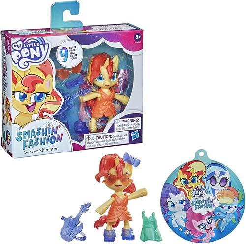 Imagem 1 de 5 de Boneca My Little Pony Sunset Shimmer Fashion Surpresa Hasbro