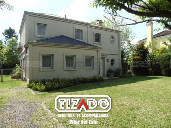 Casa En Alquiler 5 Ambientes 198 Ubicado En Los Jazmines, Pilar Pilar Del Este
