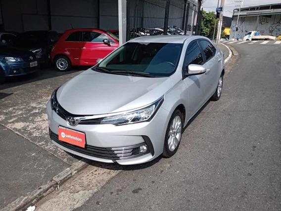 Toyota Corolla Xei 2.0 Flex 2018 Prata 20000km