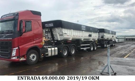 Fh 540 + Rodo-caçamba 2019 Entrada + Parcelas