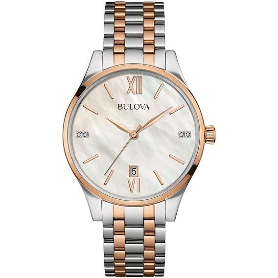 Relógio Bulova Dess Analógico Feminino Wb22373s