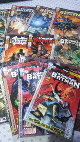 A Sombra Do Batman - 1ª Série/panini - 2010-2012 -