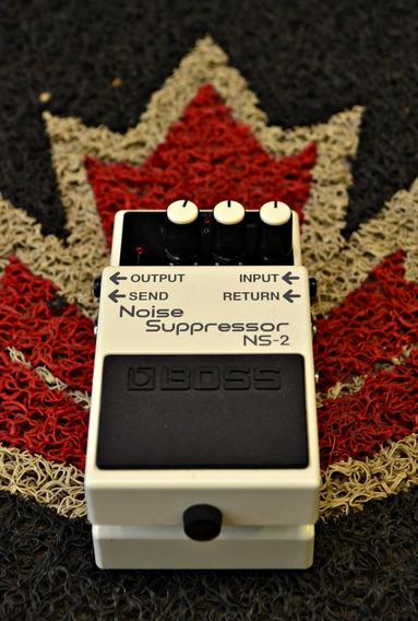 Pedal Boss Ns 2 Noise Suppressor Roland Novo + Nf E Garantia