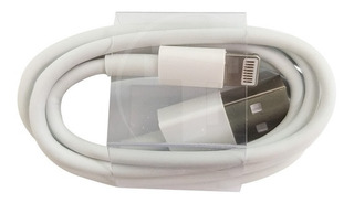 Cable Data Usb iPhone 5 Blanco Sin Empaque