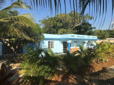 Pasadia/amanecer Villa Romina, Boca Chica Piscina Y Bbq