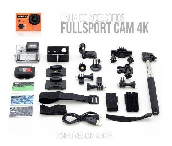 Câmera Atrio 4k Dc185 (tipo Gopro)