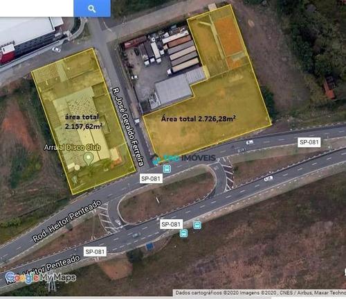 Imagem 1 de 3 de Área À Venda, 4900 M² Por R$ 8.700.000,00 - Notre Dame - Campinas/sp - Ar0024