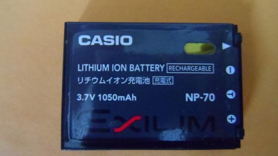 Bateria Para Camara Casio Np-70 3.7v 1050 Mah